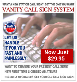 Ham Radio Vanity Call Signs